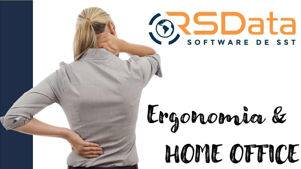 ERGONOMIA E O TRABALHO HOME OFFICE